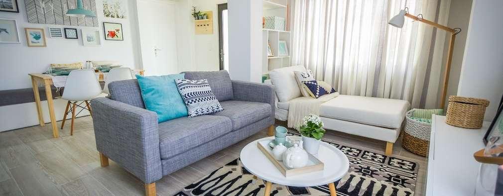 Querido mudei a casa episódio#2402: Salas de estar escandinavas por Homestories