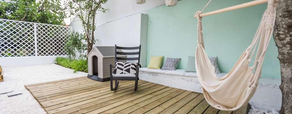 22 idee semplici ed economiche per rinnovare il balcone o for Tutto per il balcone