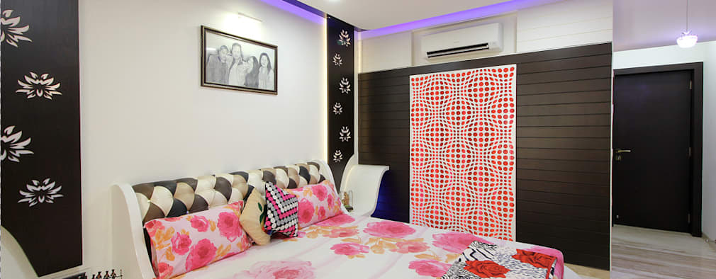 modern Bedroom by home makers interior designers & decorators pvt. ltd.