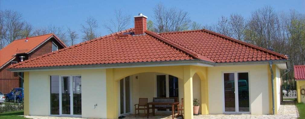 Dos casas perfectas de una sola planta incluye planos - Casas de una sola planta ...
