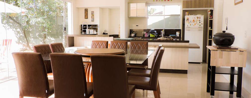 modern Dining room by Cecyn Arquitetura + Design