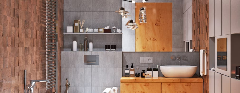 حمام تنفيذ Студия дизайна Interior Design IDEAS
