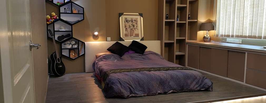 modern Bedroom by Alecc Interior Design
