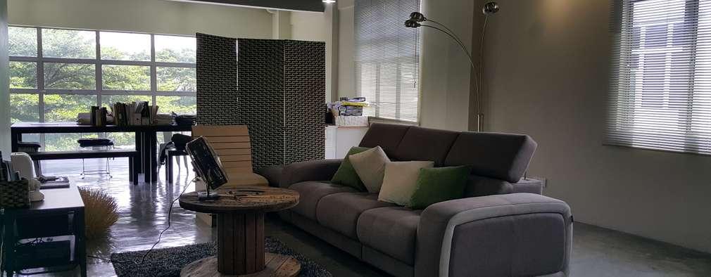 modern Living room by Alecc Interior Design