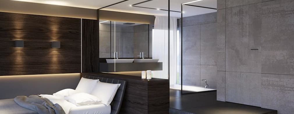 modern Bedroom by LK&Projekt GmbH