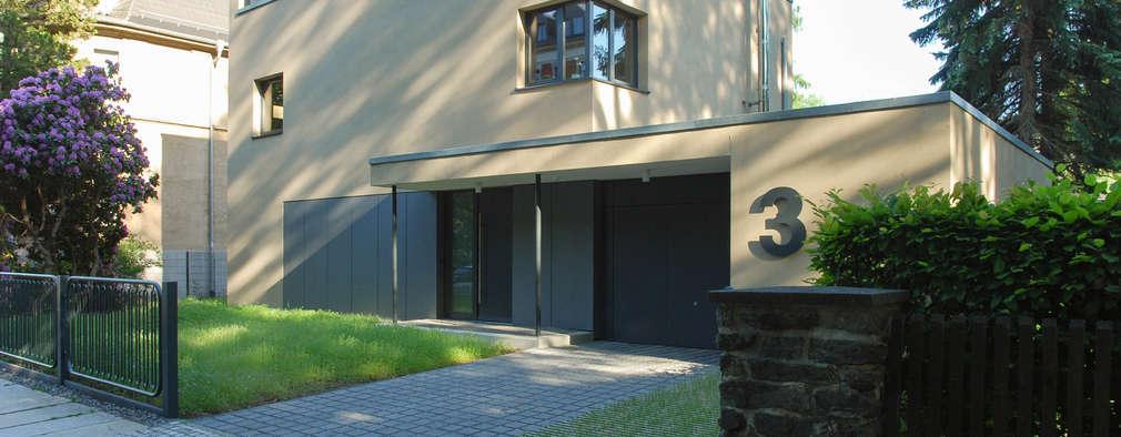 Projekty, nowoczesne Domy zaprojektowane przez fried.A - Büro für Architektur