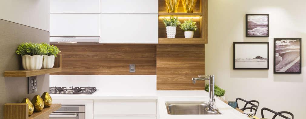 15 fabulosas repisas y gabinetes para el dise o de tu cocina for Disenos de gabinetes de cocina