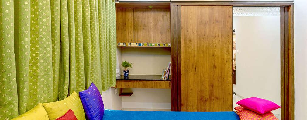 Pimpalgaonkar House: asian Bedroom by Saar Interior Design