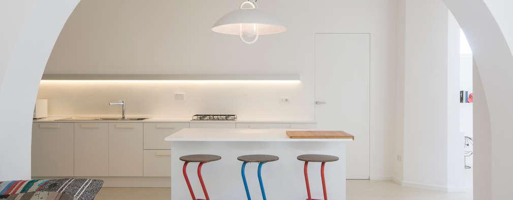 mediterranean Kitchen by mc2 architettura