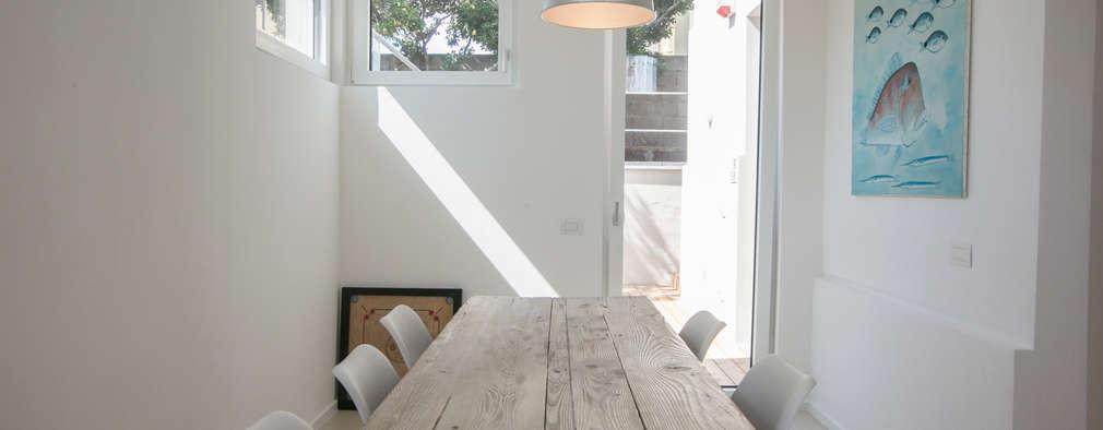 mc2 architettura: akdeniz tarzı tarz Yemek Odası