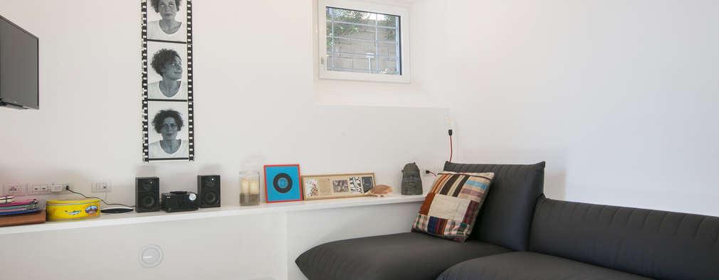 غرفة المعيشة تنفيذ mc2 architettura