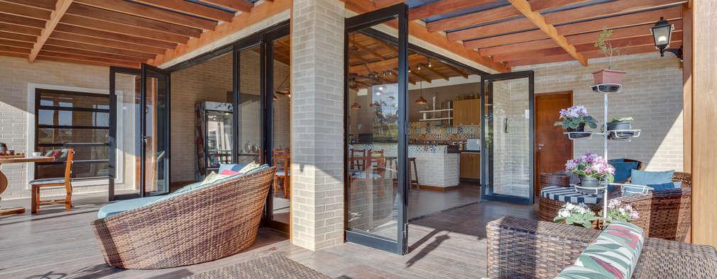 10 dise os de pilares que har n lucir tu terraza - Donde se puede poner una casa de madera ...