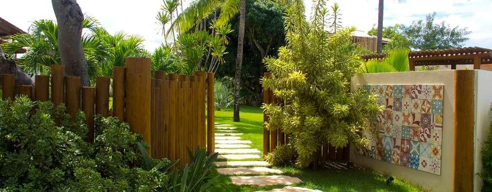 Vườn by Tânia Póvoa Arquitetura e Decoração