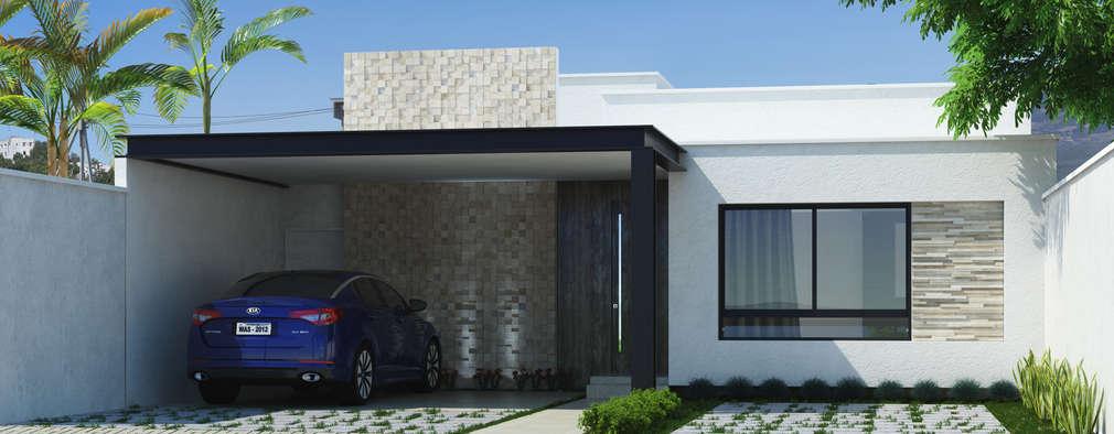 17 modelos de casas que tienes que ver antes de construir for Modelos techos para garage