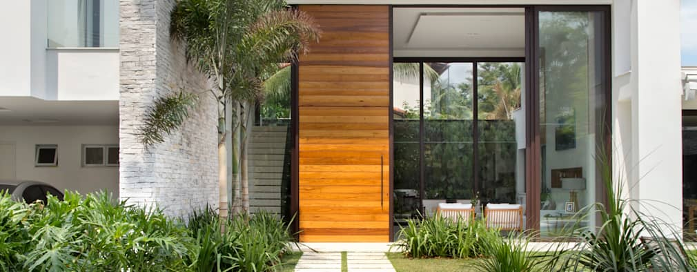 moderne Huizen door Amanda Miranda Arquitetura