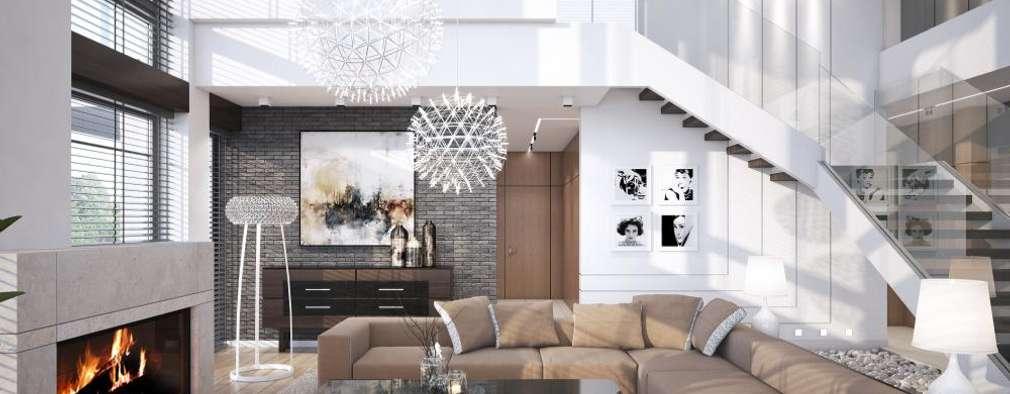 Projekty,  Salon zaprojektowane przez LK&Projekt GmbH