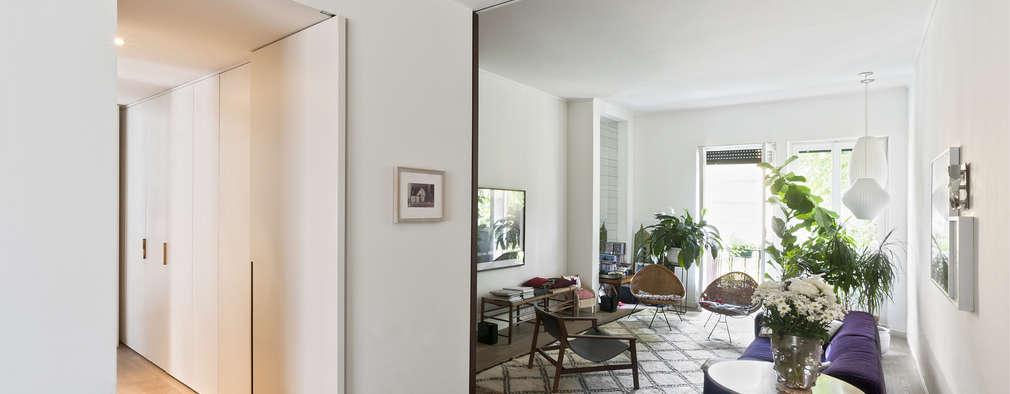 ห้องนั่งเล่น by Fabio Azzolina Architetto