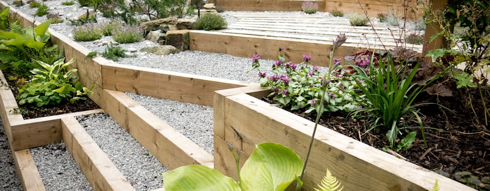 15 jardineras geniales para patios grandes y peque os for Jardineras para patios pequenos