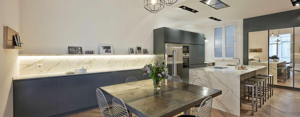 Eclectic Kitchen By Helga Hidalgo Arquitectura De Interiores