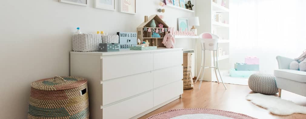 Grandes ideas para hacer espacios nicos con muebles ikea - Comoda malm 4 cajones ...