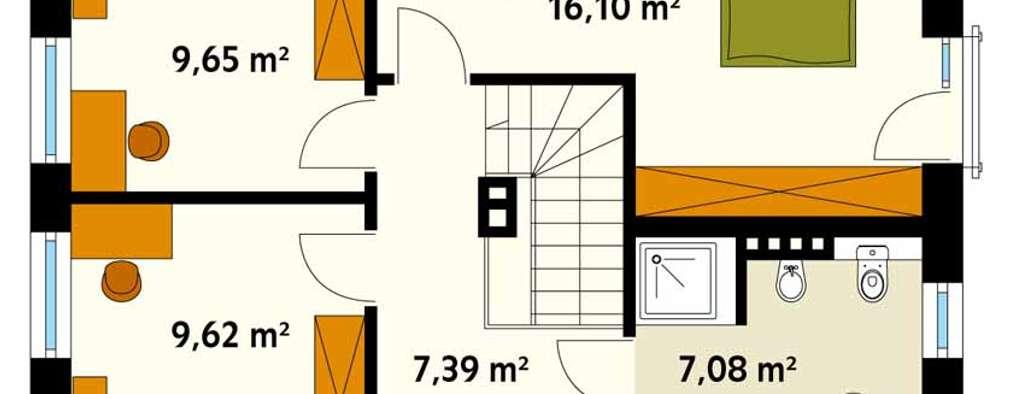 Walls by Biuro Projektów MTM Styl - domywstylu.pl