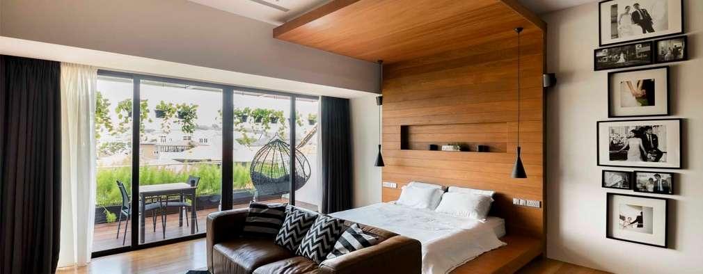 modern Bedroom by Eightytwo Pte Ltd