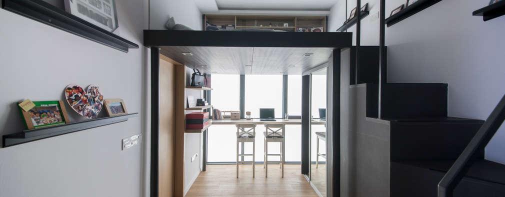 Projekty,  Sypialnia zaprojektowane przez Eightytwo Pte Ltd