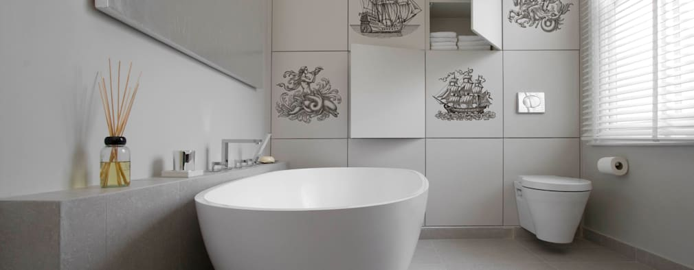 modern Bathroom by Pixers