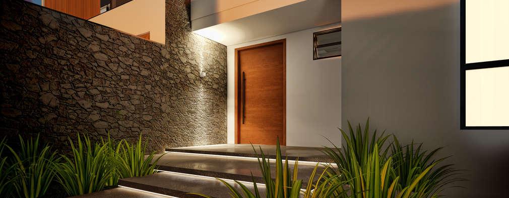 9 moderne beleuchtungsideen f r den eingangsbereich. Black Bedroom Furniture Sets. Home Design Ideas