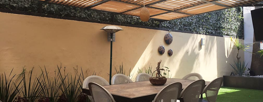 modern Garden by AMG Arquitectura Integral