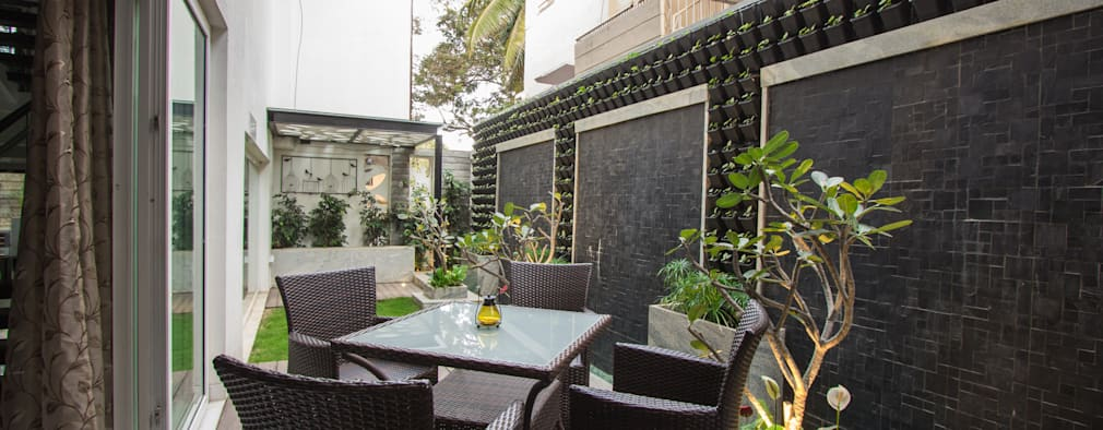 Jardines de estilo moderno por A360architects