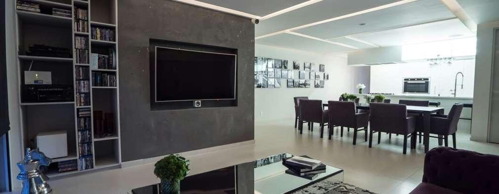 25 ideas geniales para colocar la televisión en tu casa