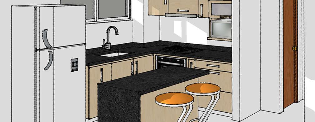 6 diseños de cocinas para que puedas planificar la tuya