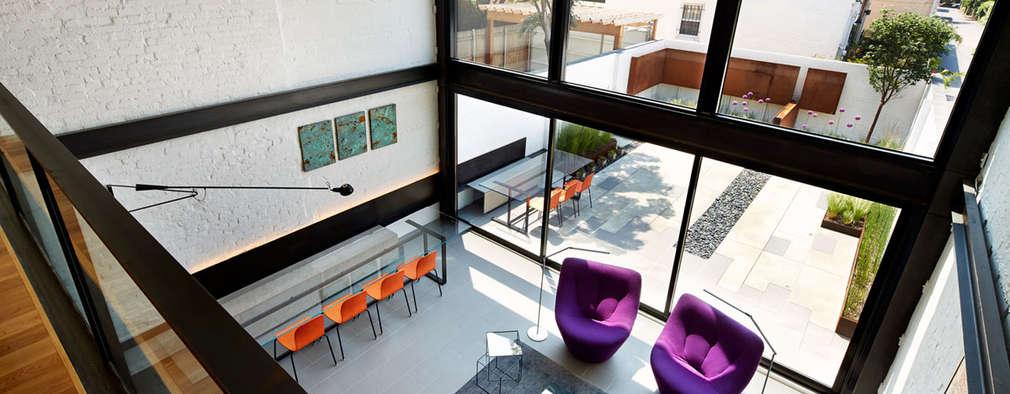 Salt + Pepper House: modern Living room by KUBE Architecture