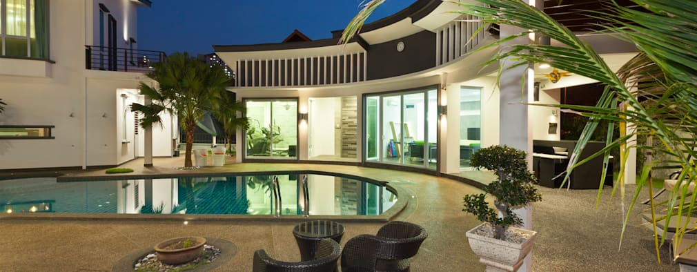 A Contemporary Malay Bungalow With Shining Style