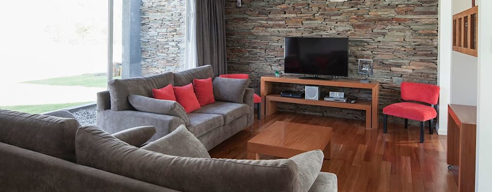 Casa M: Livings de estilo moderno por DMS Arquitectura