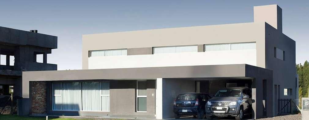 Projekty, nowoczesne Domy zaprojektowane przez DMS Arquitectura