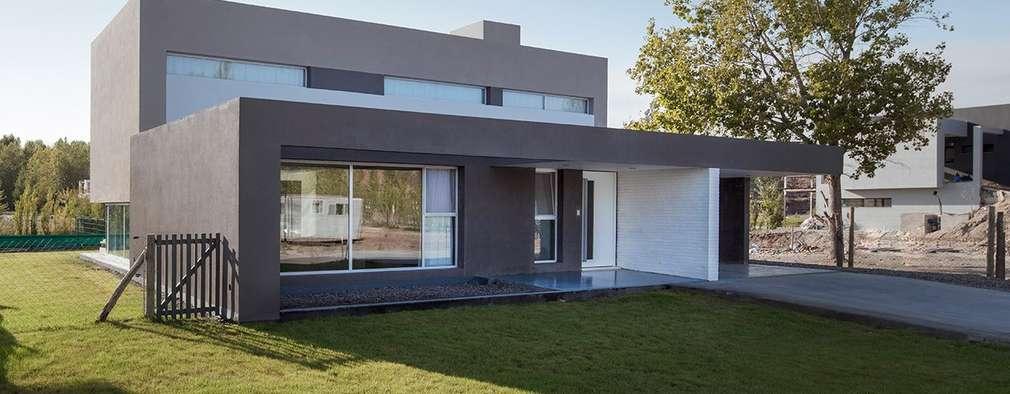 Casas de estilo moderno por DMS Arquitectura