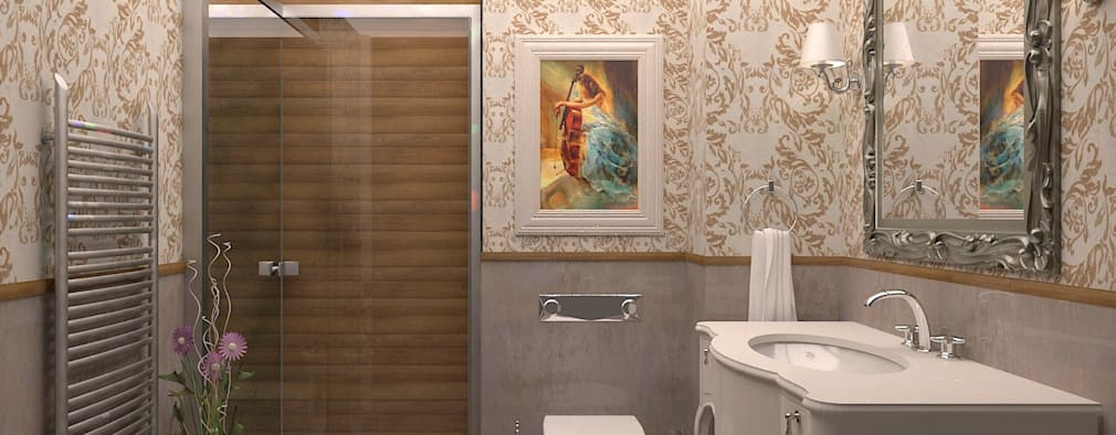 classic Bathroom by ESA PARK İÇ MİMARLIK