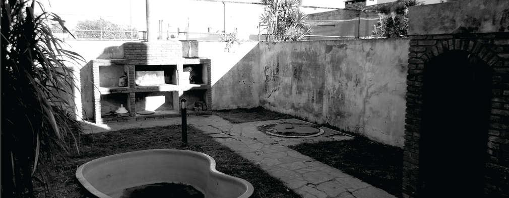 Albercas de estilo minimalista por D'ODORICO OFICINA DE ARQUITECTURA