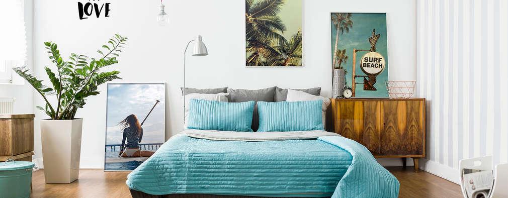 So könnt ihr euer kleines Schlafzimmer übers Wochenende verschönern