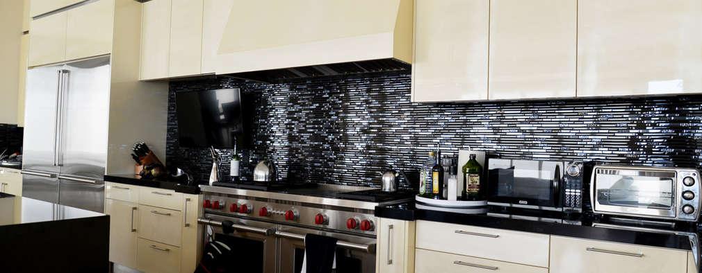 15 revestimientos modernos para las paredes de tu cocina - Revestimiento pared cocina ...