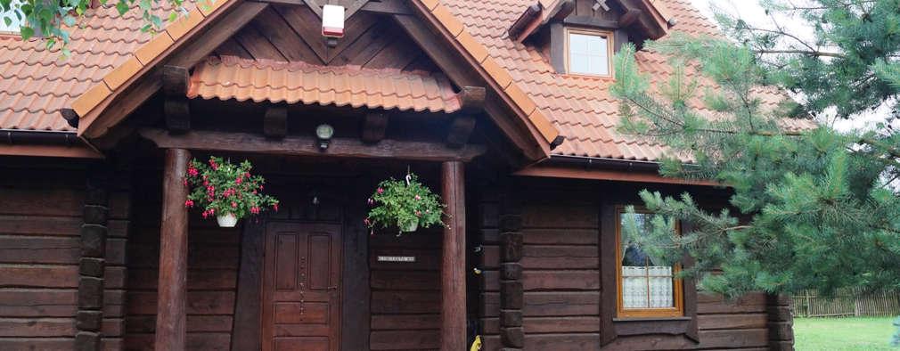 Casas de estilo rural por Nowak i Nowak Architekci