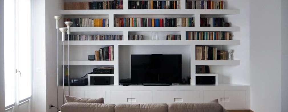 modern Living room by Luigi Brenna Architetto
