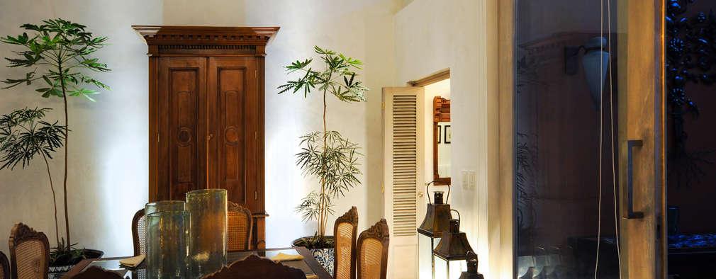 غرفة السفرة تنفيذ Ancona + Ancona Arquitectos