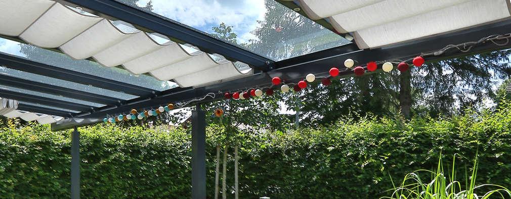 Ideas para cubrir patios peque os sin gastar mucho dinero for Toldos para patios pequenos