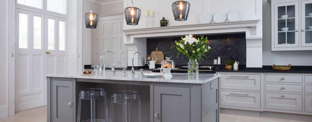 Hampshire: classic Kitchen by Lewis Alderson
