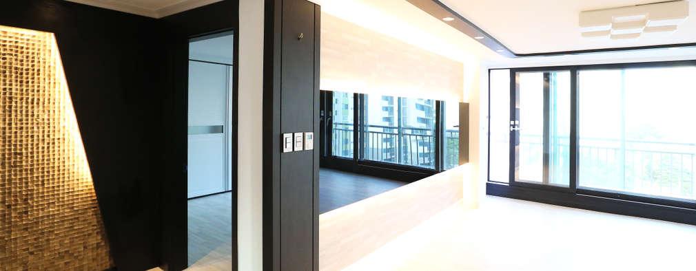 현대적인 디자인에 세련된 감각을 더하는 아파트 인테리어