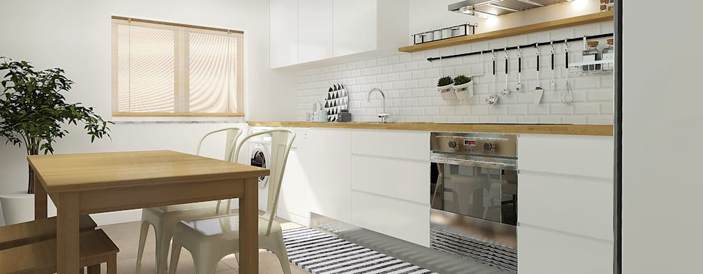 scandinavian Kitchen by Homestories