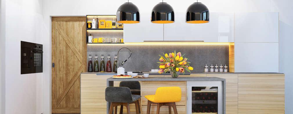 МОЛОДОСТЬ     : Кухни в . Автор – PRIVALOV design